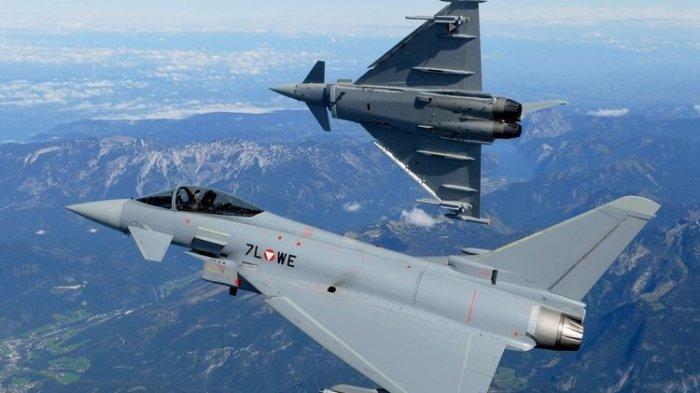 Segini Harga Pesawat Tempur Eurofighter Typhoon yang Bakal Diborong Prabowo Subianto