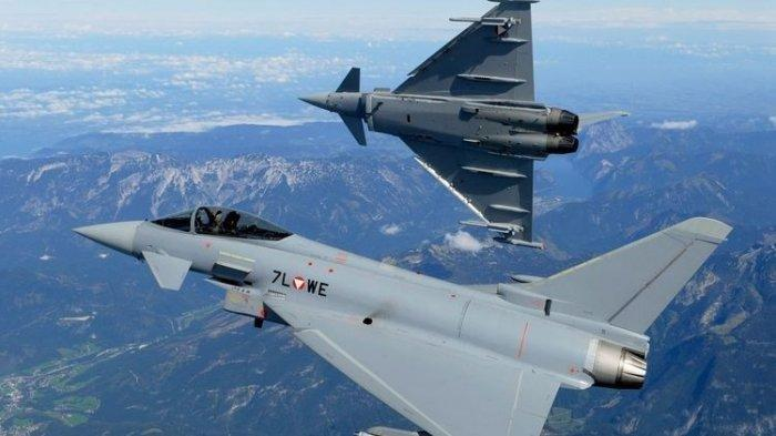 Penampakan dan Harga Jet Tempur Bekas Pakai Austria Eurofighter Typhoon yang Mau Diborong Prabowo