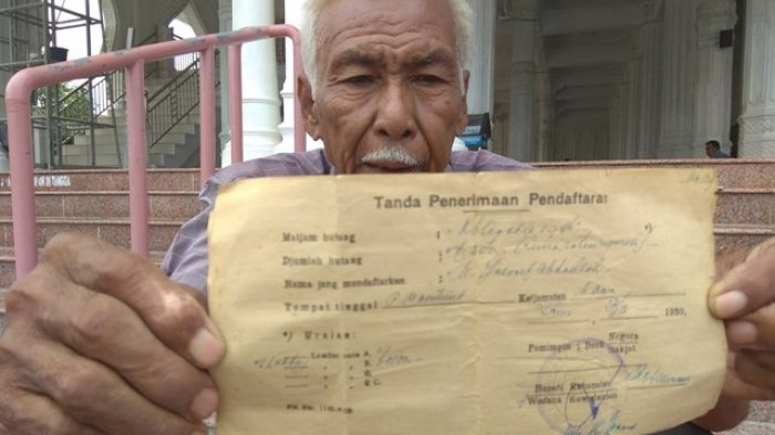 Warga Aceh Tunjukkan 3 Surat Utang Negara Tahun 1950, Belum Dipastikan Terkait Pembelian Pesawat RI