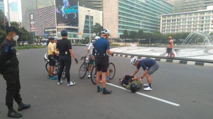 Jadi Korban Tabrak Lari di Bundaran HI, Begini Kondisi Terbaru Pengemudi Sepeda:Dirawat di Singapura