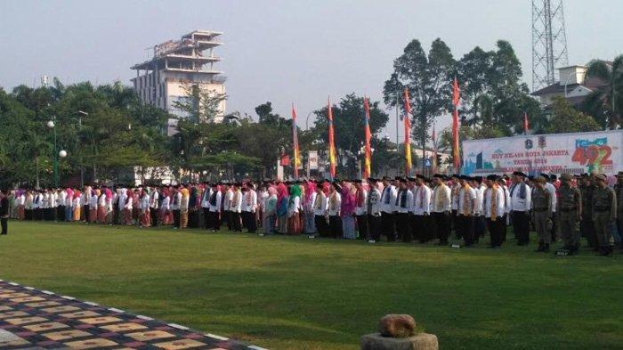 Walkot Jakarta Barat Sampaikan Makna Wajah Baru Jakarta Dalam Upacara Peringatan HUT ke-492