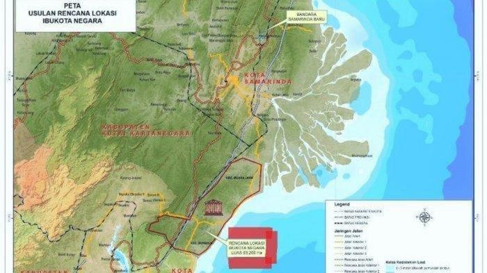 Profil Kabupaten Paser Utara Lokasi Ibu Kota Baru, Pindah Bertahap Paling Lambat 2024