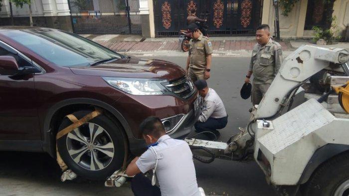 Sampai Pertengahan Tahun, Sudah 2.382 Kendaraan Diderek di Jakarta Barat