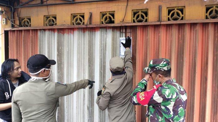 4 Tempat Usaha di Kramat Jati Ditutup Sementara karena Melanggar Jam Operasional