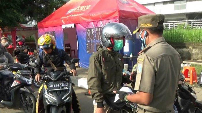 Tak Punya SIKM, Puluhan Pengemudi Ditolak Masuk Jakarta