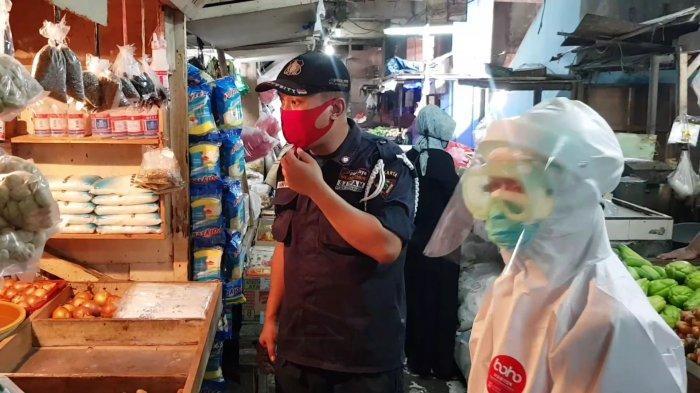 Pedagang Pasar Perumnas Klender Jakarta Timur Sempat Ngeyel Tak Mau Ikuti Rapid Test dan Swab