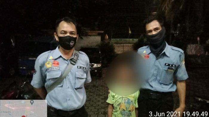 Ditinggal Teman-Temannya Saat Ngompreng Mobil Bak, Bocah 9 Tahun Ini Tersesat di Jakarta Selatan