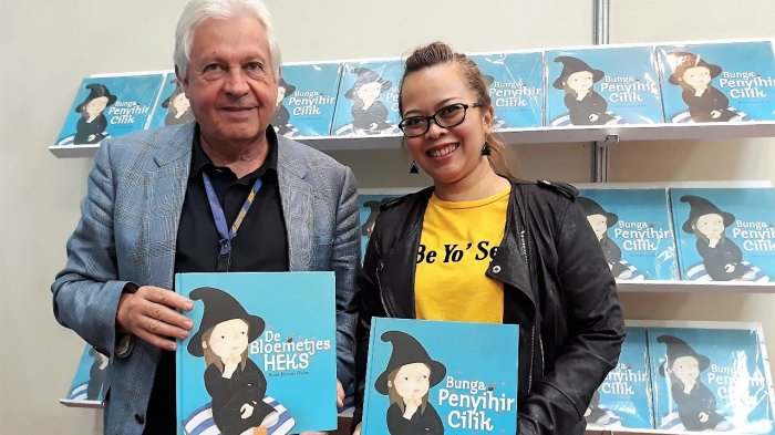 'Bunga Penyihir Cilik', Buku Dongeng asal Indonesia yang Masuk Pasar 50 Negara, Hadir di IIBF 2018