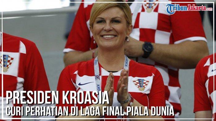 Kolinda Grabar-Kitarovic, Presiden Kroasia yang Fasih 4 Bahasa hingga Curi Perhatian di Piala Dunia