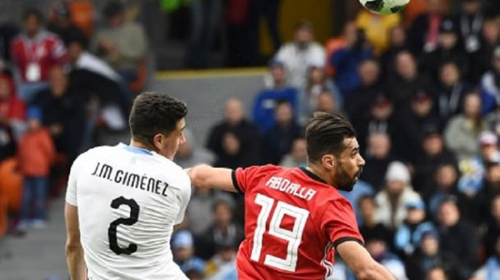 Babak Pertama: Mesir vs Uruguay Imbang Tanpa Gol