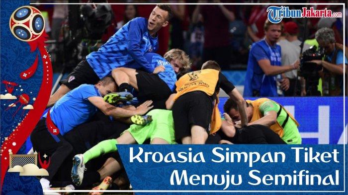 Amankan Tiket Semifinal, Kroasia Tumbangkan Rusia Lewat Adu Penalti
