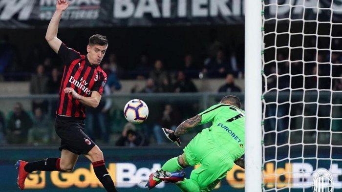 Hasil Liga Italia: Menang 2-1 atas Chievo, AC Milan Perpendek Jarak dari Napoli di Serie A
