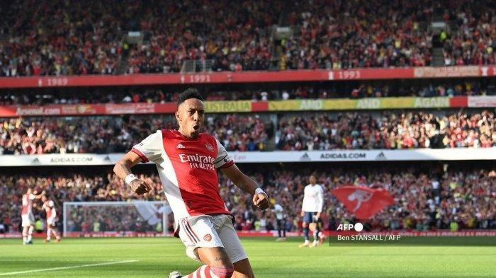 Hasil Liga Inggris Arsenal Vs Tottenham, The Gunners Menang Telak di Kandang