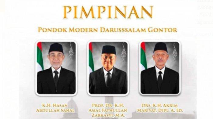 BREAKING NEWS Pimpinan Pondok Modern Darussalam Gontor Resmi Dilantik Bakda Salat Jumat