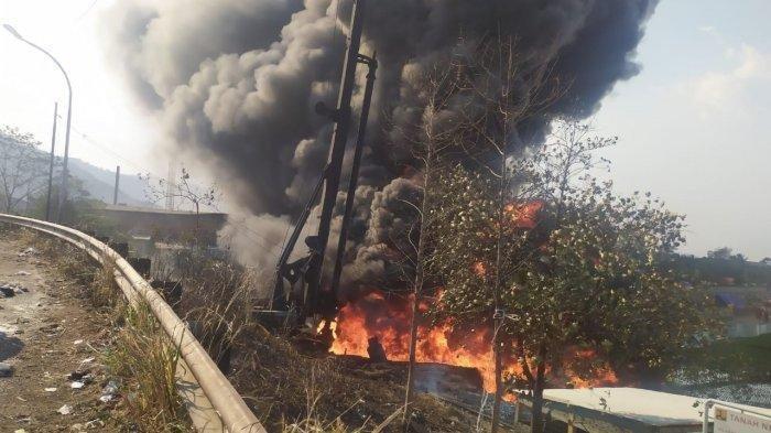 UPDATE Pipa Pertamina Meledak di Proyek Kereta Cepat, 1 Pekerja WNA Tewas, Polisi Turun Tangan