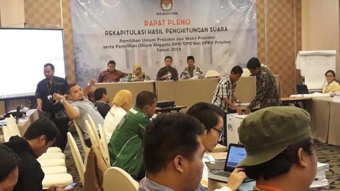 Ngaret, KPU Kota Jakarta Timur Pindahkan Tempat Pleno Rekapitulasi Suara