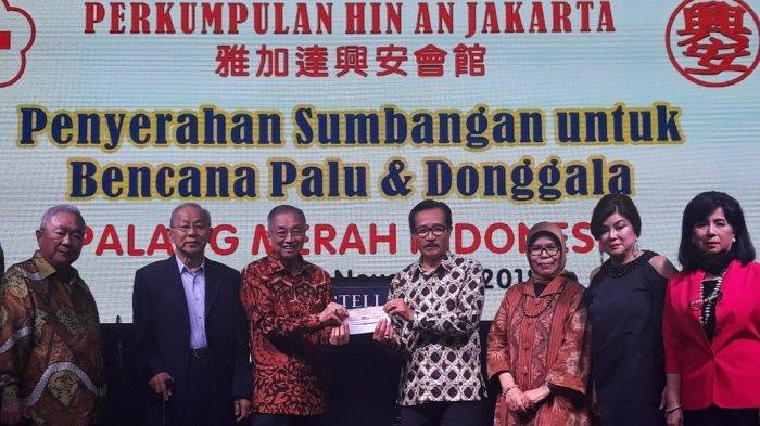 PMI DKI Jakarta Terima Sumbangan Rp 500 Juta untuk Korban Bencana Sulteng