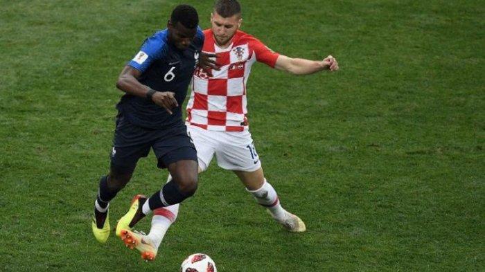 Kaki Kiri Pogba Bawa Perancis Unggul 3-1 Atas Kroasia