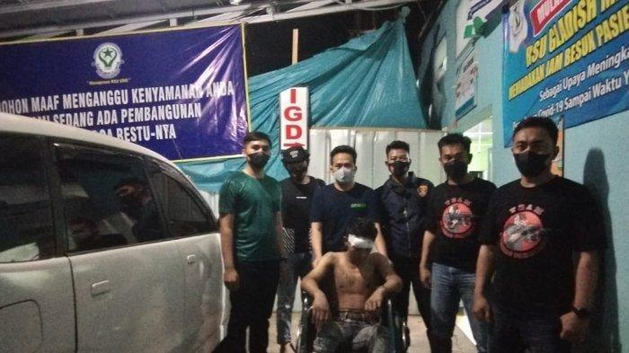 Polisi menangkap pelaku pembegalan yang beraksi di Kuburan Cina Desa Sukajaya, Lempasing, Kecamatan Teluk Pandan, Kabupaten Pesawaran.