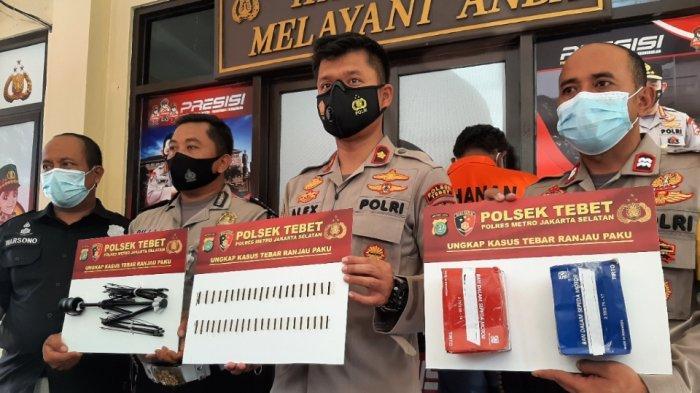 Aksi Bandit Tebar Ranjau Paku Meresahkan Pengendara, Ini 3 Titik Paling Rawan di Jakarta Selatan