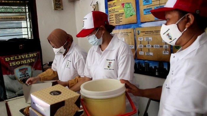 Nekat, Anggota Polsek Sawah Besar Mengantarkan Makanan ke Pasien Covid-19 yang Isolasi Mandiri