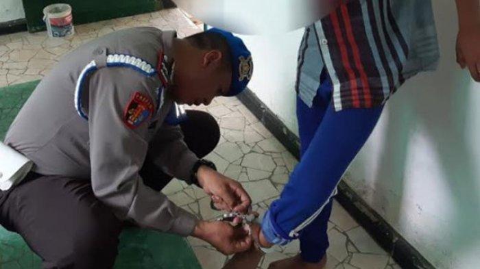Anak Disekap dan Diborgol di Kandang Ayam: Seret dari Warnet, Pelaku Residivis KDRT, Jadi Tersangka