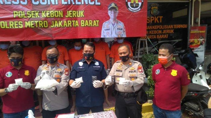 Polisi Tangkap Dua Pengedar Sabu yang Dikendalikan Bandar di Lembaga Pemasyarakatan Jakarta
