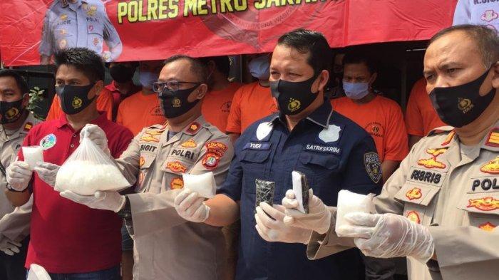 Polsek Kebon Jeruk Ungkap 1,3 Kg Sabu Jaringan Lapas
