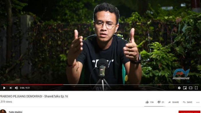 Prabowo Disebut Antidemokrasi, Faldo Maldini Menyangkal: 3 Kali Ikut Pemilu Kalah Semua