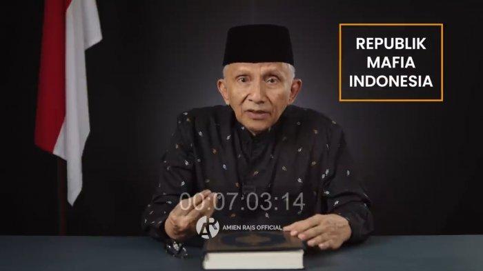 Kritik Keras Pemerintahan Jokowi, Amien Rais Sebut Republik Mafia Indonesia Cukong Berkuasa