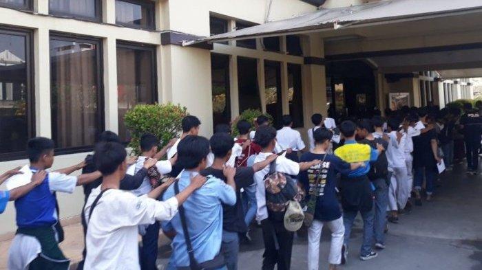 Mau Berangkat Aksi ke Gedung DPR RI, Puluhan Pelajar Kembali Diamankan Polres Metro Jakarta Utara