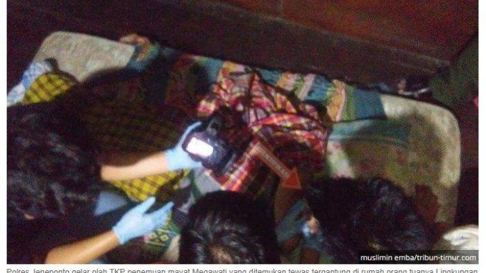 Megawati Nekat Gantung Diri di Hadapan Sang Bayi, Riwayat Percakapan dengan Suami Jadi Petunjuk