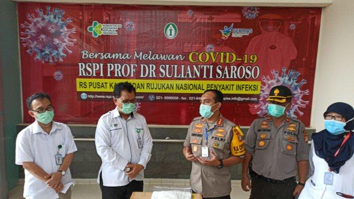 Polres Jakarta Utara Beri Bantuan APD Bagi Tenaga Medis RSPI Sulianti Saroso