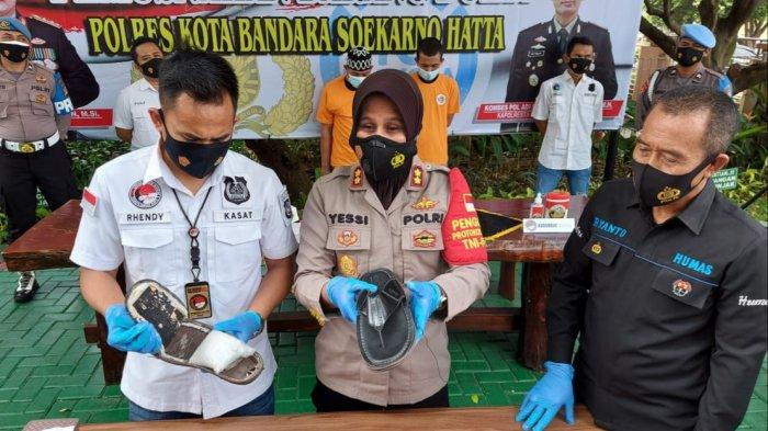 Kurir Narkoba Antartarpulau Diciduk di Bandara Soekarno-Hatta, Simpan Sabu di Dalam Sol Sandal