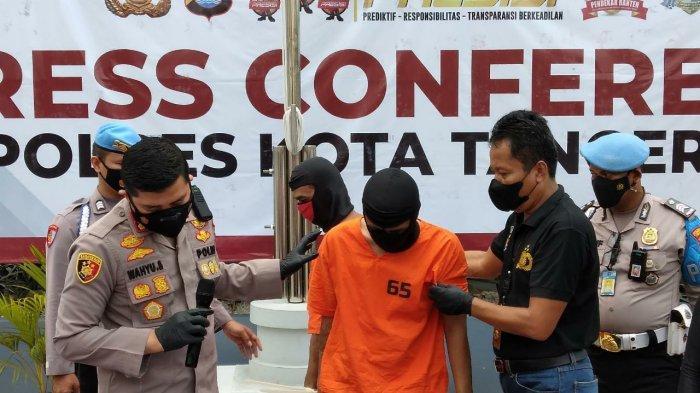 Pakai Senjata Api Imitasi, 2 Pencuri Kendaraan Beraksi di Tangerang Selama 2 Bulan