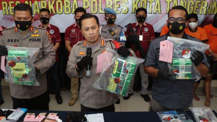 Berkat Driver Ojol, Polisi Ringkus 17 Orang Gembong Narkoba Jaringan Internasional di Tangerang