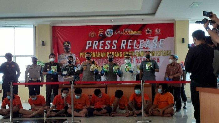 Polresta Tangerang Gagalkan Peredaran 7 Kilogram Sabu, Satu Tersangka Masih DPO