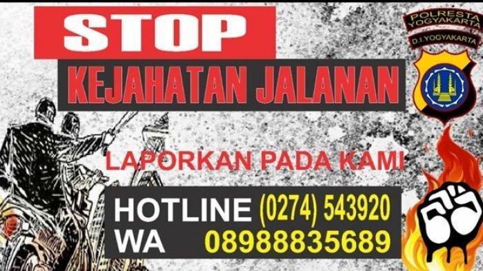 Penjelasan Kasus Kekerasan Remaja di Yogyakarta yang Dikenal dengan Klitih hingga Nomor Aduan Polisi