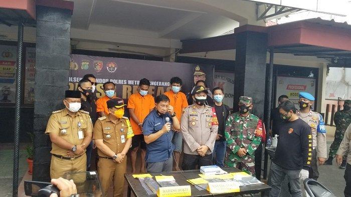 Komplotan Pencuri Kendaraan Bermotor di Cipondoh Ditangkap Polisi