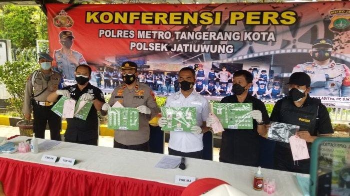 Polisi Bongkar Peredaran Sabu Kemasan Paket Hemat dari Bogor di Tangerang