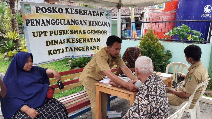 Hari Ketiga Banjir, Ratusan Pengungsi di Kecamatan Periuk Tangerang Mulai Terserang Penyakit