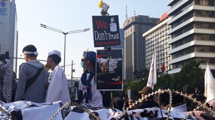 Kalau Prabowo Tak Datang, Demonstran di Bawaslu Akan Bubar Usai Buka: Pulang Baik-baik ke Rumah