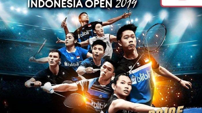 Indonesia Open 2019 Hari Ini: Ruselli Hartawan Main Pertama, Ini Link Live Streaming