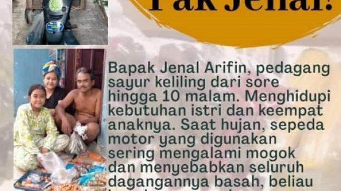 Cerita Retno dan 3 Rekannya Galang Dana Untuk Bantu Lunasi SPP dan Perbaiki Motor Tetangganya