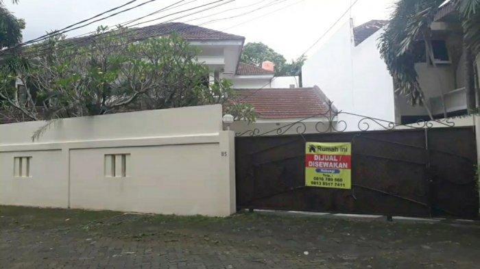 Penampakan rumah ibunda mantan Dubes RI untuk Amerika Serikat Dino Patti Djalal, Zurni Hasyim Djalal, di kawasan Cilandak, Jakarta Selatan, Rabu (10/2/2021).