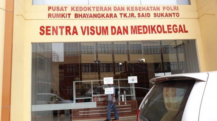 Tampak ruang Sentra Visum dan Medikolegal lokasi MS menjalani pemeriksaan jiwa di RS Polri Kramat Jati, Jakarta Timur, Senin (6/9/2021).