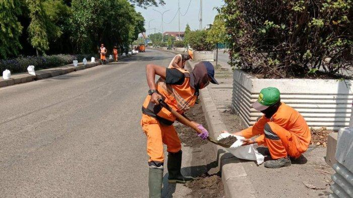 Pascaunjuk Rasa di Dekat Istana Negara, Dinas Lingkungan Hidup DKI Angkut 2,1 Ton Sampah