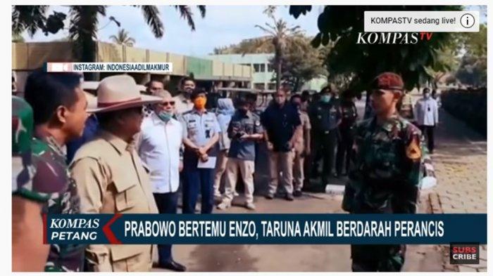 Keberadaan Ayahnya Dipertanyakan Prabowo Subianto, Enzo Taruna Keturunan Perancis Tegas Jawab Begini