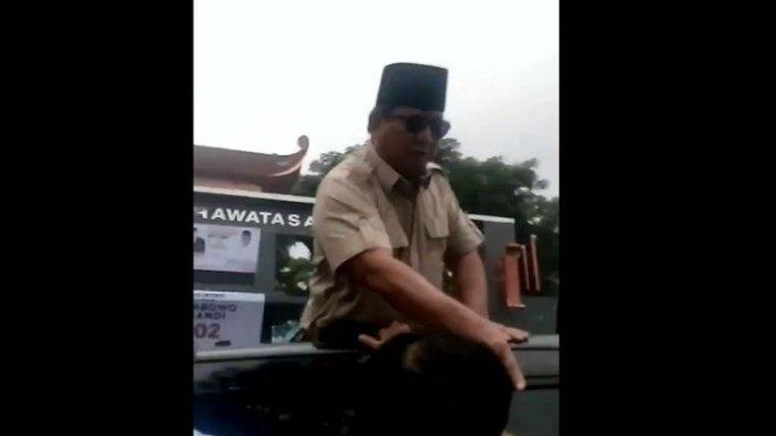 Dua Kubu Terpecah Komentari Prabowo Pukul Tangan Pria di Cianjur, Sudjiwo Tedjo Dibikin Bingung