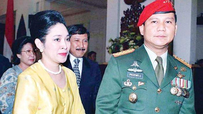 Foto Prabowo Subianto Masih Terpajang di Rumah Cendana, Tommy Soeharto Masih Anggap Keluarga